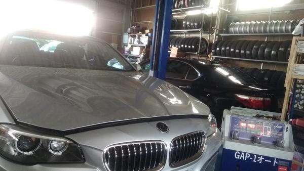 BMW XG20 ATF圧送交換 しました!!