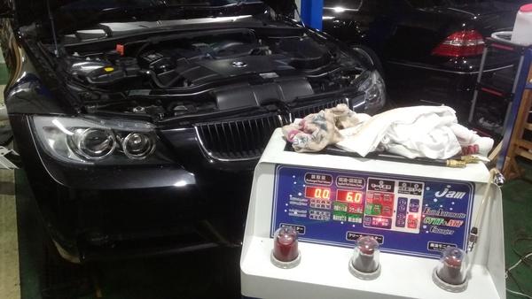 BMW 320i トルコン太郎 ATF圧送交換 しました!!