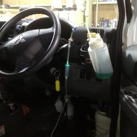 パワー回復・燃費向上 RECS注入 しました!