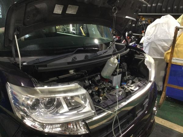 RECSでエンジン内部洗浄  半額