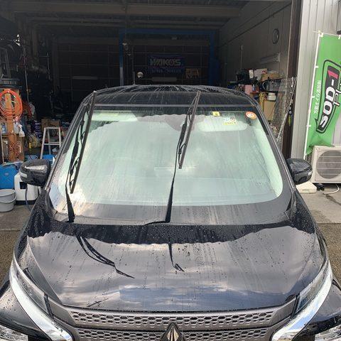 スパシャン(超撥水)洗車